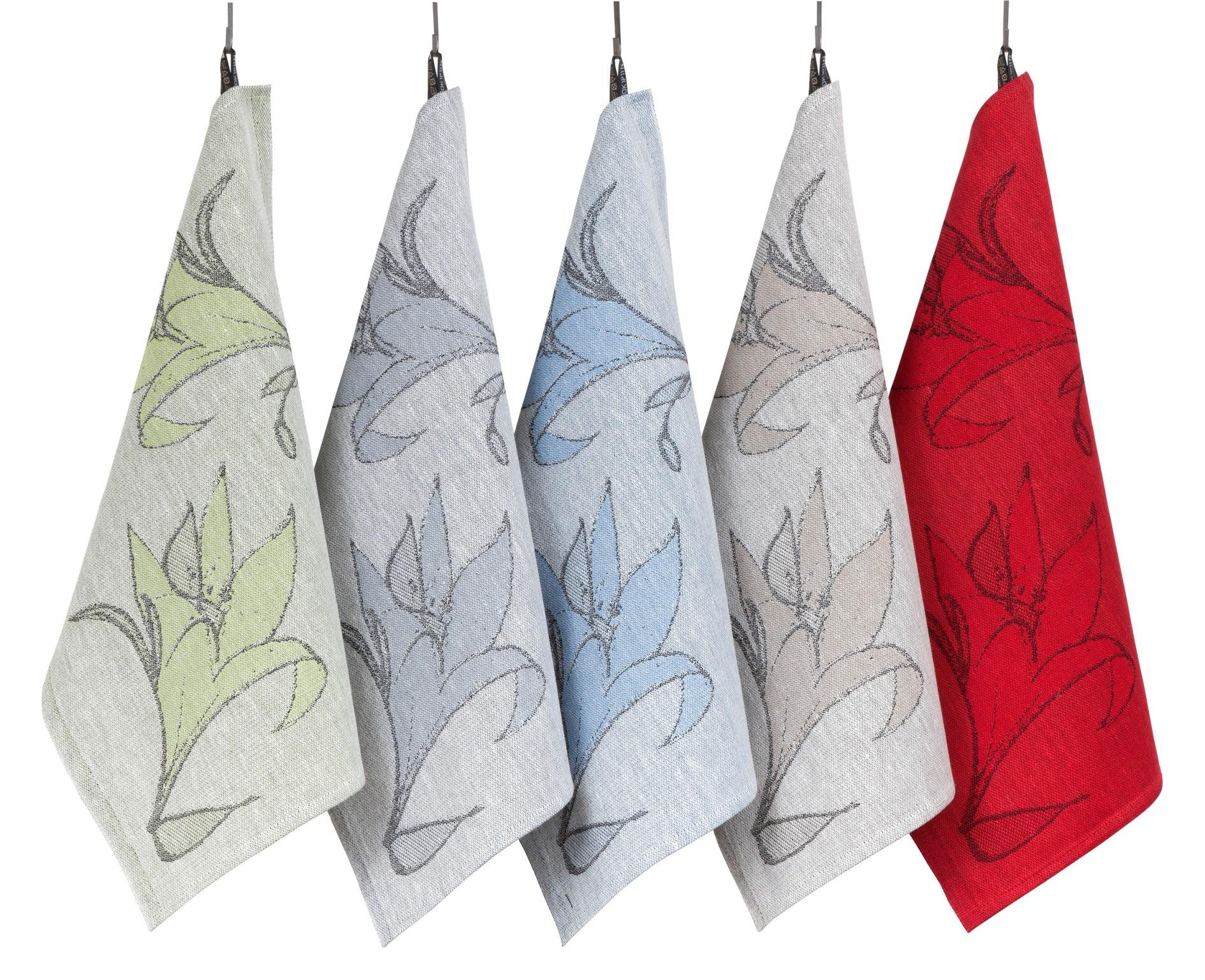 Кухонные льняные полотенца линии Jalo, дизайн Юкка Ринтала
